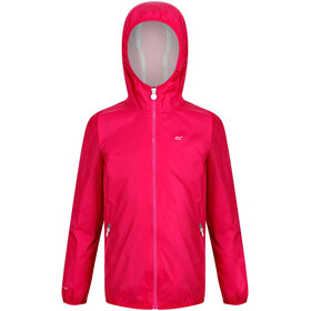 Regatta Lever II Waterproof Shell Jacket Kids, cabaret